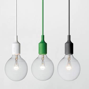 Popular Photo of Bare Bulb Hanging Pendant Lights