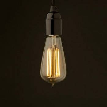 Bare Bulb Pendant With Regard To Bare Bulb Filament Single Pendants (#4 of 15)