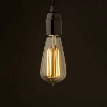Bare Bulb Pendant With Regard To Bare Bulb Filament Single Pendants (View 12 of 15)
