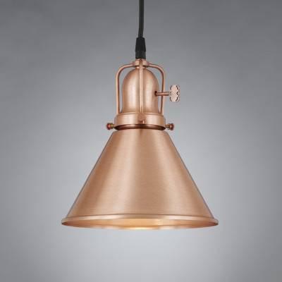 Barnesville Copper Antique Pendant Light – Antique & Vintage With Regard To Most Recent Vintage Pendant Lights (View 15 of 15)