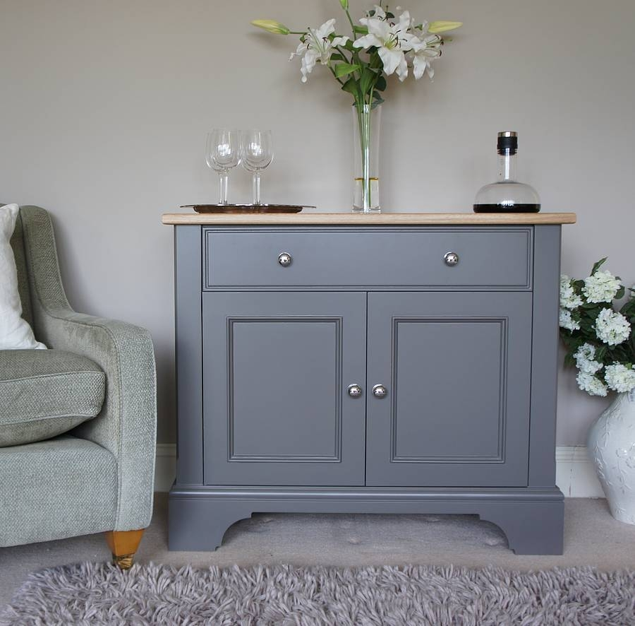 Baslow Sideboard In A Choice Of Colours And Sizeschatsworth Pertaining To Grey Painted Sideboards (#1 of 15)