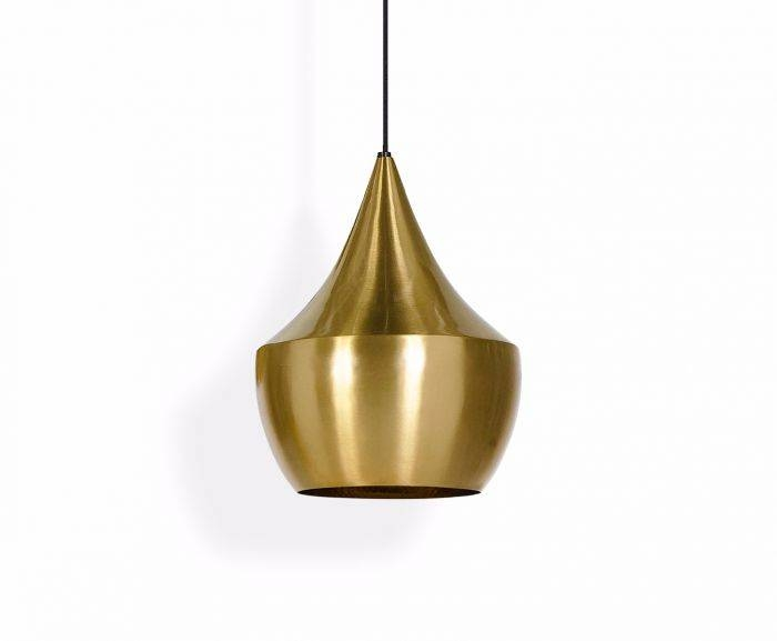 Beat Fat Brushed Pendant | Pendant Lights | Tom Dixon With Regard To Latest Tom Dixon Brass Pendants (#1 of 15)
