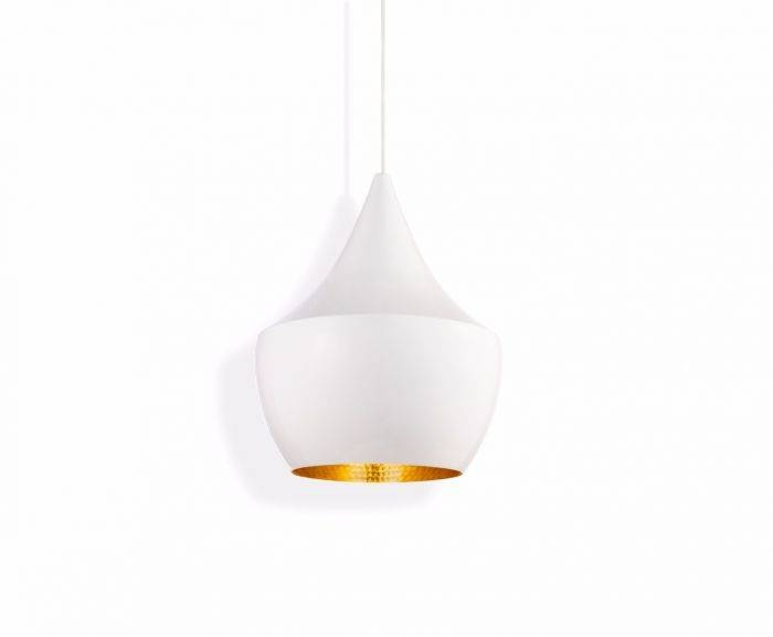 Beat Fat White Pendant | Pendant Lights | Tom Dixon With 2017 Tom Dixon Beat Pendants (#4 of 15)