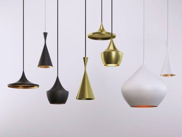 Beat Lights 3D Model | Tom Dixon Pertaining To 2018 Tom Dixon Beat Pendants (#6 of 15)