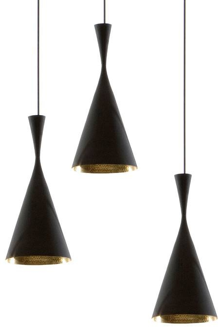 Beat Pendant Light Black/copper From Tom Dixon Beat Tall Lights Intended For Most Recently Released Tom Dixon Pendant Lamps (#1 of 15)