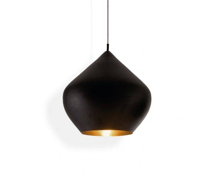 Beat Stout Black Pendant | Pendant Lights | Tom Dixon In Most Recently Released Tom Dixon Pendant Lamps (#3 of 15)