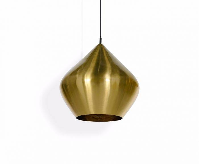 Beat Stout Brushed Pendant | Pendant Lights | Tom Dixon Pertaining To Most Up To Date Tom Dixon Brass Pendants (#2 of 15)