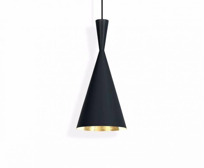 Beat Tall Black Pendant | Pendant Lights | Tom Dixon In 2017 Black Pendant Lights (#4 of 15)