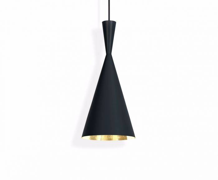 Beat Tall Black Pendant | Pendant Lights | Tom Dixon With Most Recently Released Tom Dixon Beat Pendants (#8 of 15)