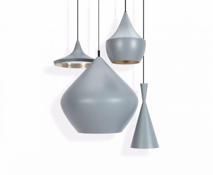 Beat Wide Grey Pendant | Pendant Lights | Tom Dixon Regarding Most Current Tom Dixon Beat Pendants (#10 of 15)