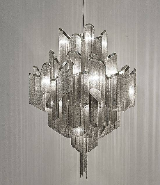 Popular Photo of Contemporary Chandeliers And Pendants
