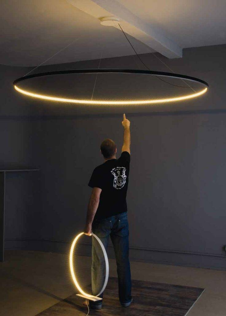 Inspiration about Beautiful Circle Pendant Light 25 Best Ideas About Ceiling Inside Newest Huge Pendant Lights (#6 of 15)