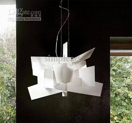 Beautiful Modern White Chandelier 90Cm White Large Modern Big Bang Throughout Current White Modern Pendant Lights (#1 of 15)