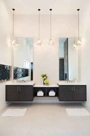 Popular Photo of Modern Bathroom Pendant Lighting