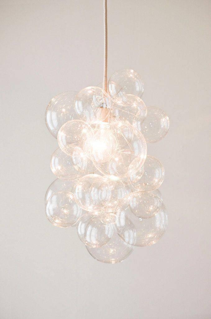 Best 25+ Bubble Chandelier Ideas On Pinterest | Bubble Diy Pertaining To Latest Bubble Pendants (#3 of 15)