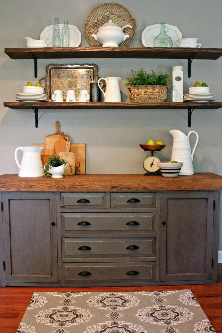 Best 25+ Buffet Table Decorations Ideas On Pinterest | Dining Room With Regard To Stylish Kitchen Sideboards And Buffets (View 15 of 15)
