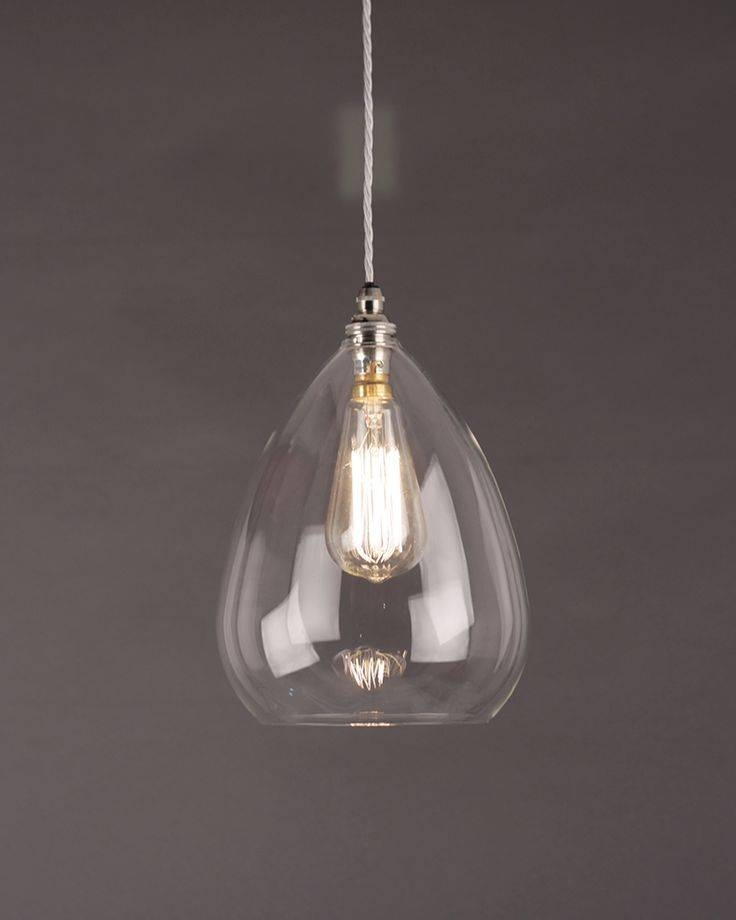 Best 25+ Clear Glass Pendant Light Ideas On Pinterest | Glass Pertaining To Most Up To Date Modern Glass Pendants (View 10 of 15)