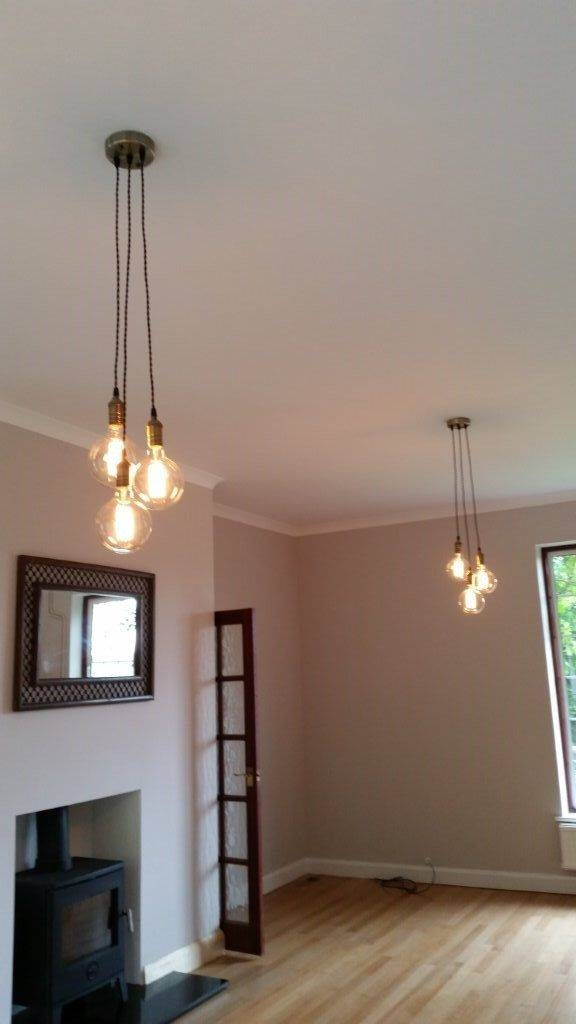 Best 25+ Cluster Lights Ideas On Pinterest | Lounge Ceiling Lights Pertaining To Three Light Bare Bulb Pendants (View 6 of 15)