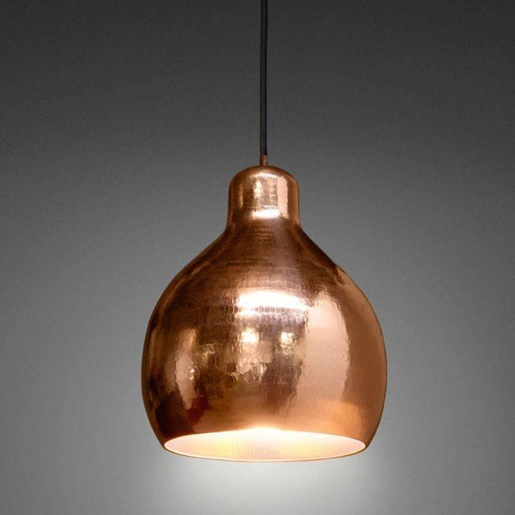 Popular Photo of Copper Pendant Lights