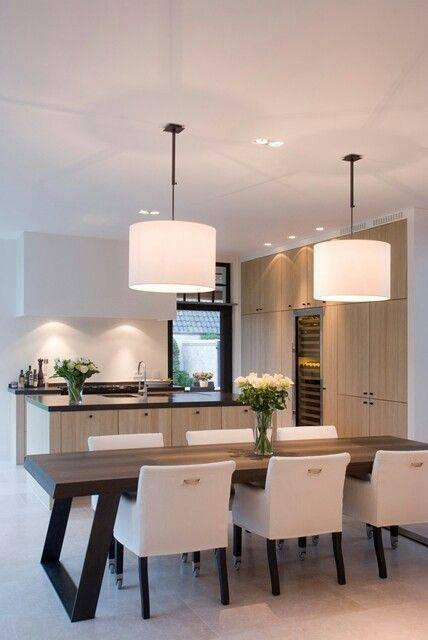 Best 25+ Dining Table Lighting Ideas On Pinterest | Over Dining Regarding Most Up To Date Pendant Lighting For Dining Table (View 11 of 15)