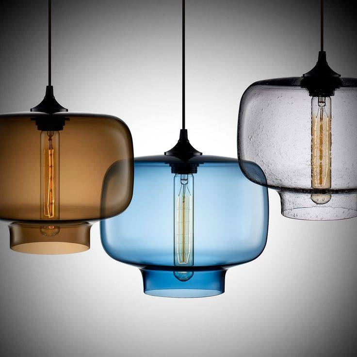 Best 25+ Glass Pendant Lights Uk Ideas On Pinterest | Glass Lights Regarding 2018 Contemporary Glass Pendant Lights (#5 of 15)