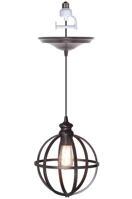 Best 25+ Industrial Recessed Lighting Kits Ideas On Pinterest Intended For Latest Pendant Lights Adapter (View 1 of 15)