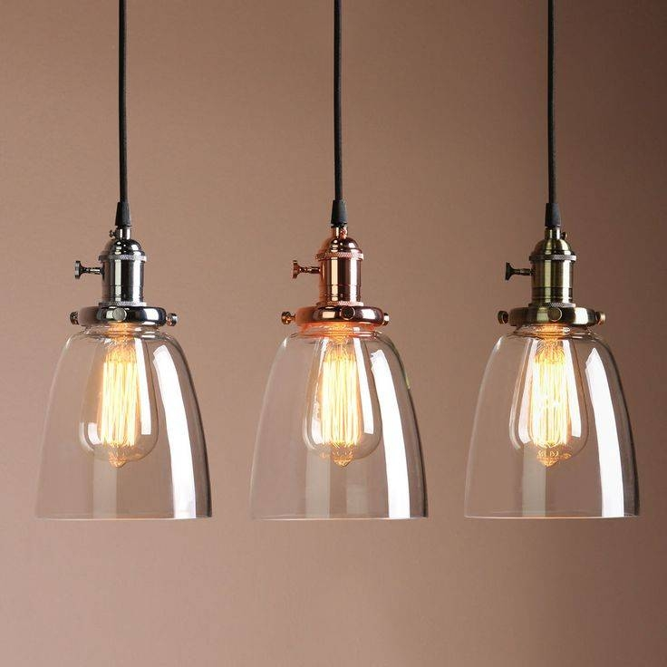 Best 25+ Light Shades Ideas On Pinterest | Copper Lighting, Copper With Best And Newest Glass Pendant Lights Shades (#6 of 15)