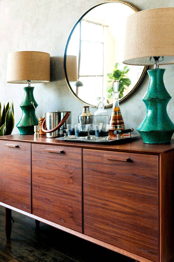 Popular Photo of Sideboards With Lamps