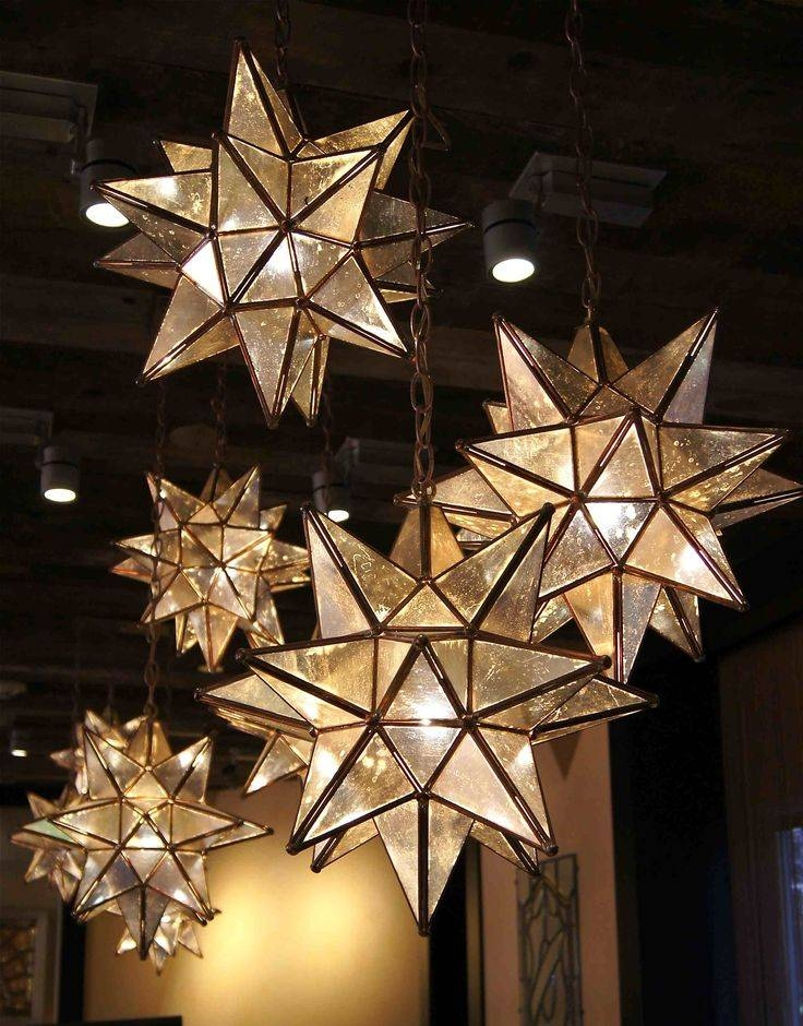 Best 25+ Moravian Star Light Ideas On Pinterest | Star Lights For Most Up To Date Star Pendant Lights (#3 of 15)