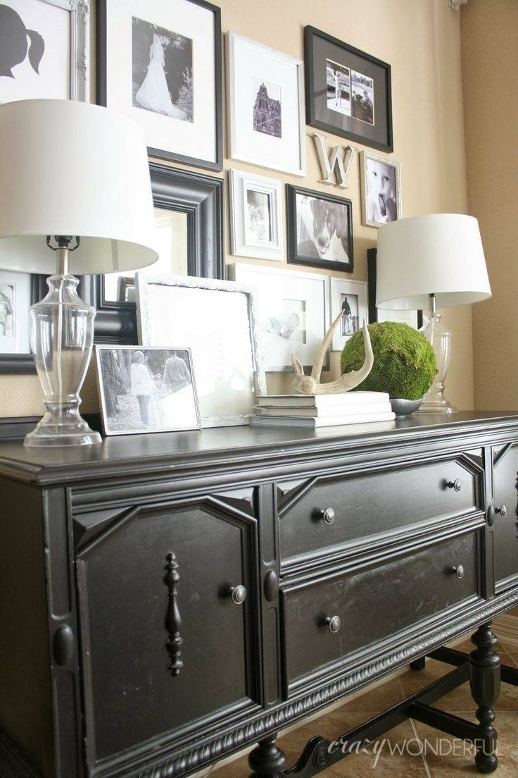 Best 25+ Sideboard Decor Ideas On Pinterest | Entry Table Intended For Sideboards With Lamps (#4 of 15)