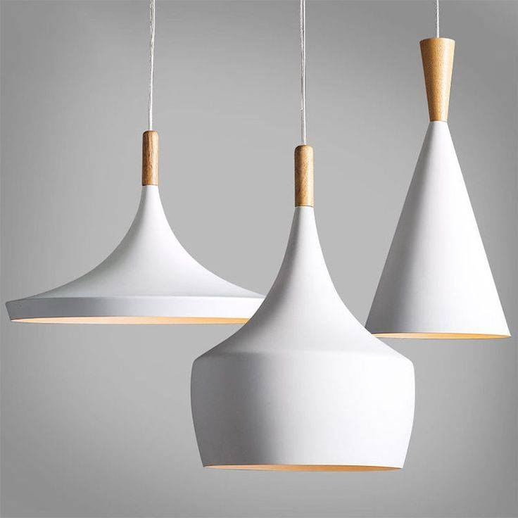 Popular Photo of Modern White Pendant Lighting