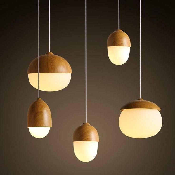 Best 25+ Wood Pendant Light Ideas On Pinterest | Natural Kitchen Regarding Latest Acorn Pendant Lights (#8 of 15)