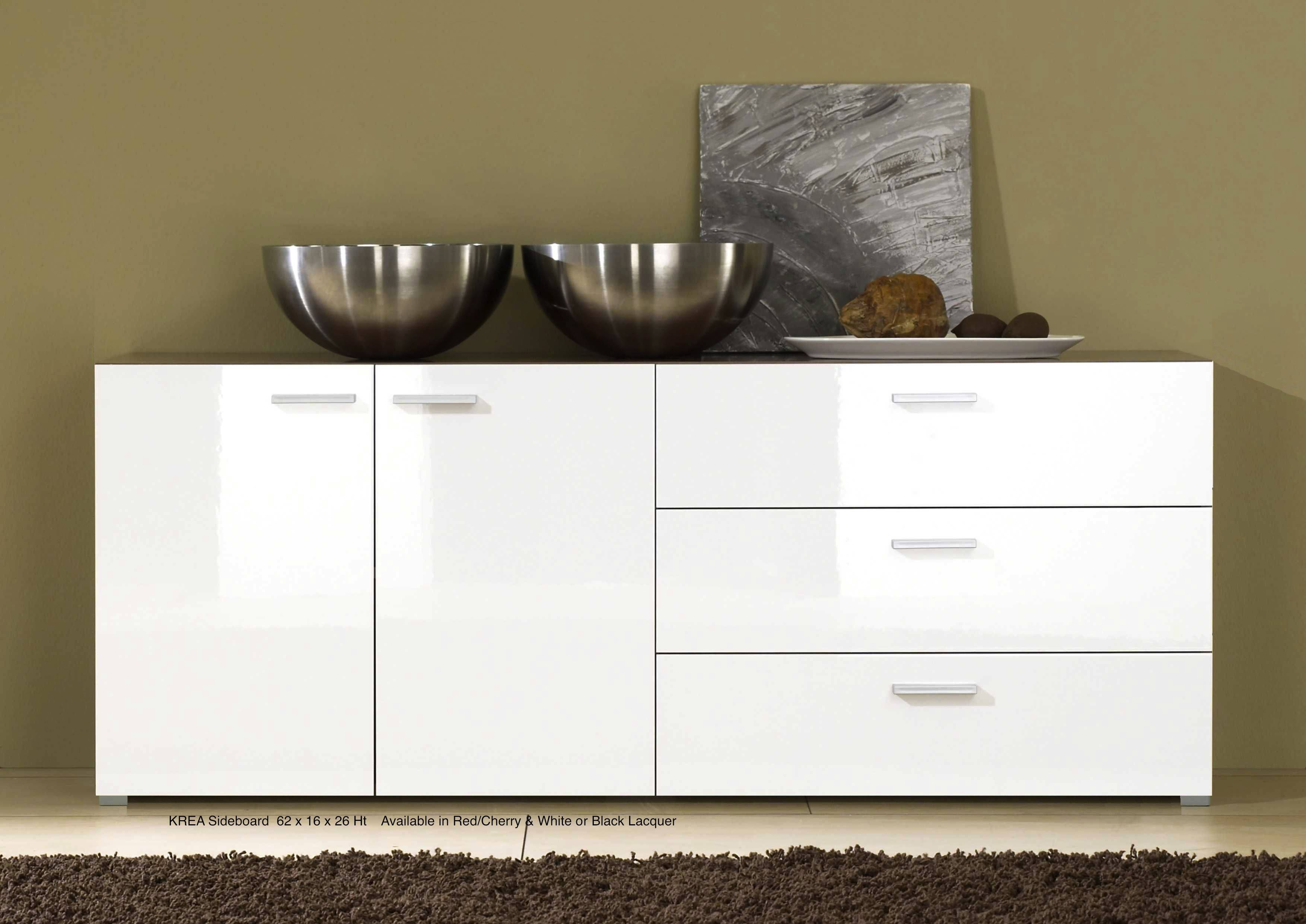 Best Fresh Gloss White Lacquer Sideboard #7758 Pertaining To White Contemporary Sideboards (#2 of 15)