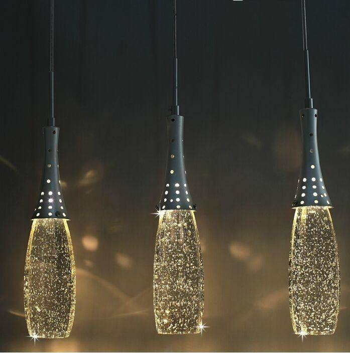 Best Pendant Crystal Lighting Crystal Light Pendants Soul Speak Regarding Most Popular Bubble Lights Pendants (View 3 of 15)