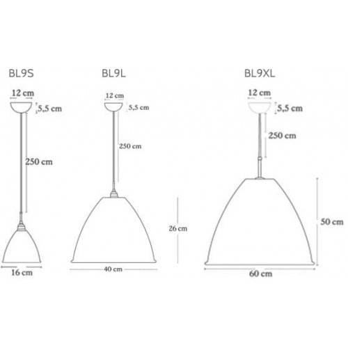 Bl9 Pendant Lamp Reproduction Lamp Intended For Most Recently Released Bestlite Pendants (#6 of 15)