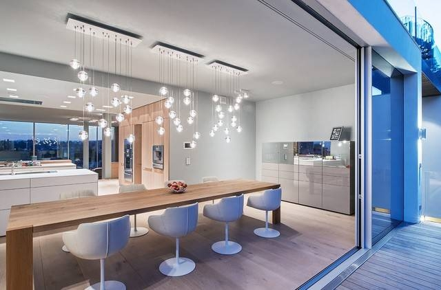 Bocci Led Pendant Lights 14 Series In Dining Room – Contemporary In Best And Newest Bocci 14 Series Pendants (View 5 of 15)