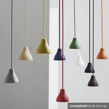 Bright Lights: Colourful Lighting For 2015 – Completehome Intended For Latest Coloured Pendant Lights (View 9 of 15)