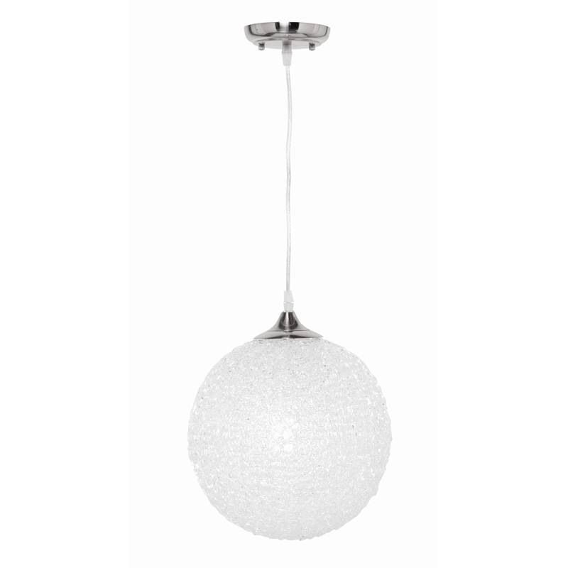 Brilliant 60W Amelie 300Mm Acrylic Ball Pendant Light | Bunnings Pertaining To 2017 Ball Pendant Lights (#4 of 15)