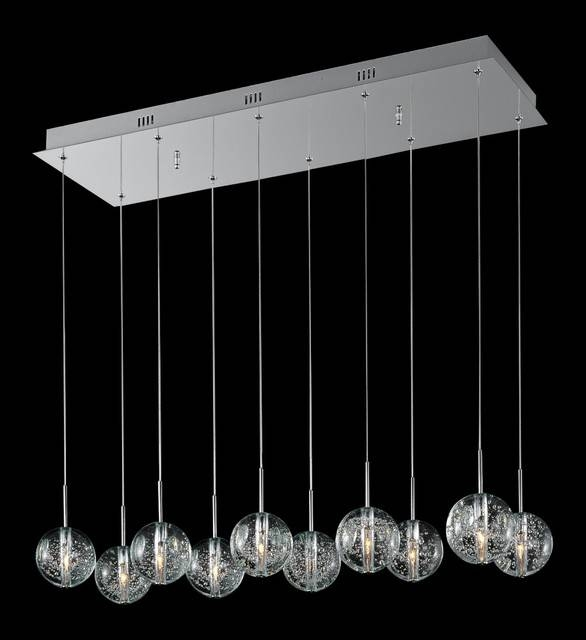 Bubble Pendant Light – Hbwonong Within Best And Newest Bubble Pendant Lights (#3 of 15)