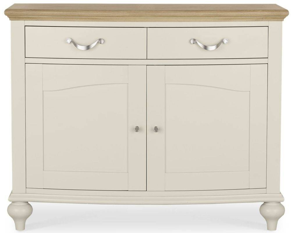 Buy Bentley Designs Montreux Pale Oak And Antique White Sideboard With Regard To Narrow Oak Sideboards (#1 of 15)