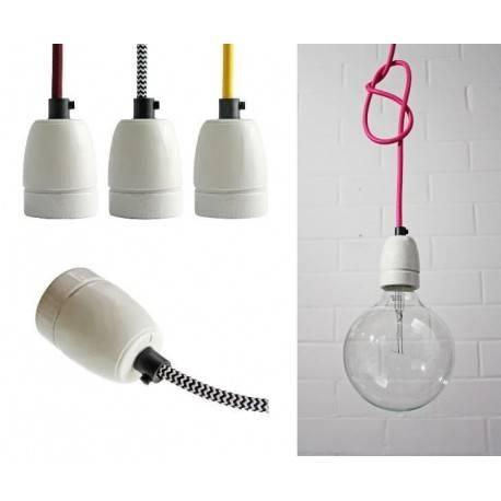 Buy Ceramic Series E27 Pendant Lamp Within Recent E27 Pendant (#4 of 15)