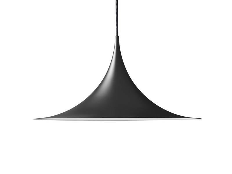 Buy The Gubi Semi Pendant Light Black At Nest.co (#8 of 15)