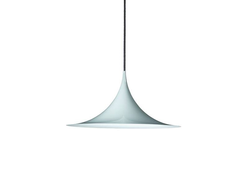 Buy The Gubi Semi Pendant Light Blue Grey At Nest.co (View 14 of 15)