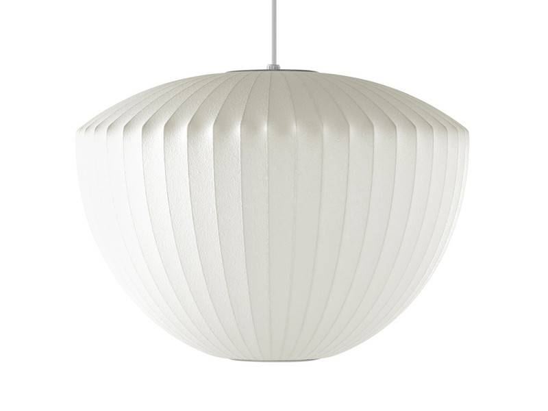 Buy The Herman Miller George Nelson Bubble Apple Pendant Lamp At In Newest Bubble Pendant Lights (#4 of 15)