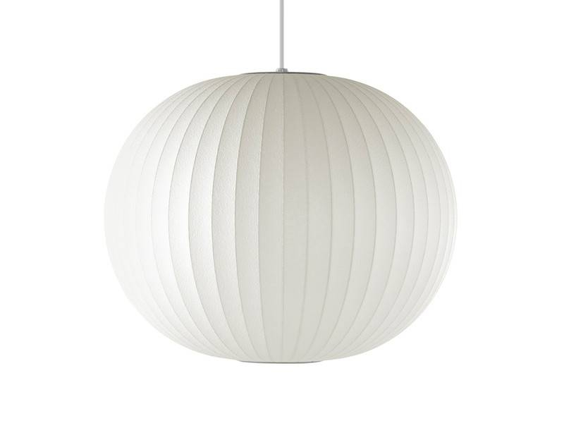 Buy The Herman Miller George Nelson Bubble Ball Pendant Lamp At Intended For Most Current Nelson Ball Pendant Lamps (#3 of 15)