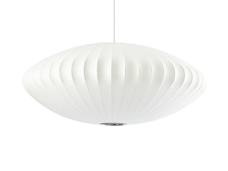 Buy The Herman Miller George Nelson Bubble Saucer Pendant Lamp At Inside Newest Saucer Pendant Lamps (#2 of 15)