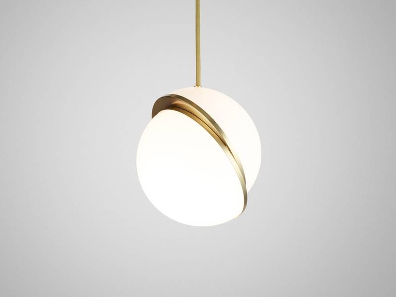 Popular Photo of Crescent Pendant Lights