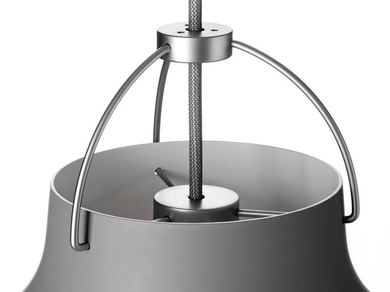 Buy The Lightyears Caravaggio Matt Pendant Light Grey45 At Nest.co (#1 of 15)