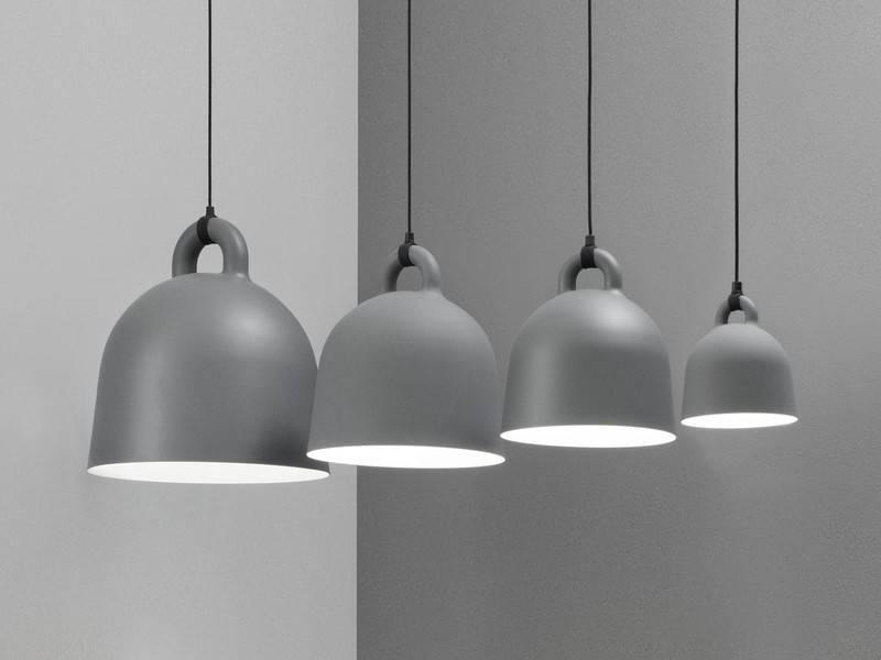 Buy The Normann Copenhagen Bell Pendant Light – Grey At Nest.co (#7 of 15)