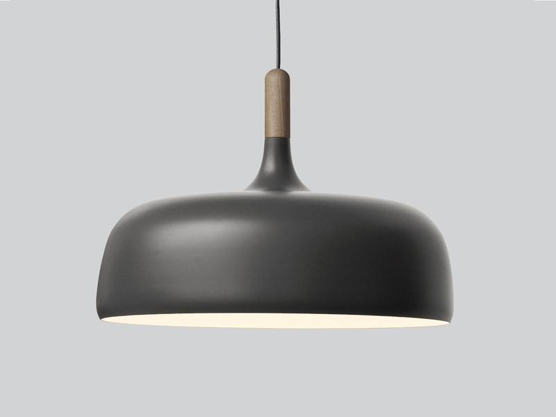Buy The Northern Lighting Acorn Pendant Grey At Nest.co (View 4 of 15)